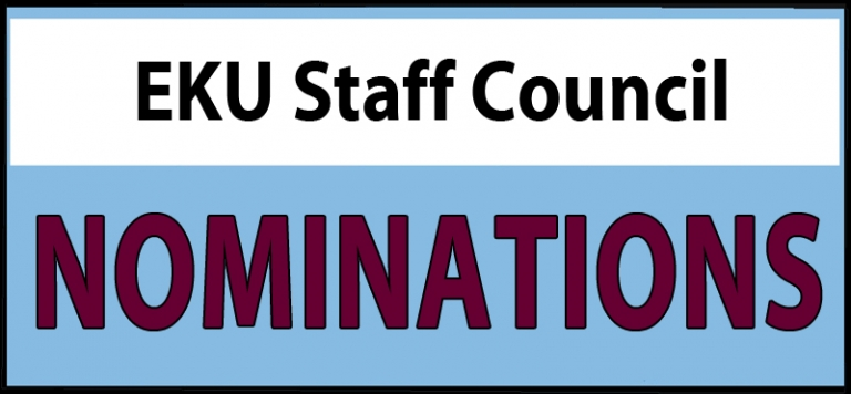 Staff Council Nominations
